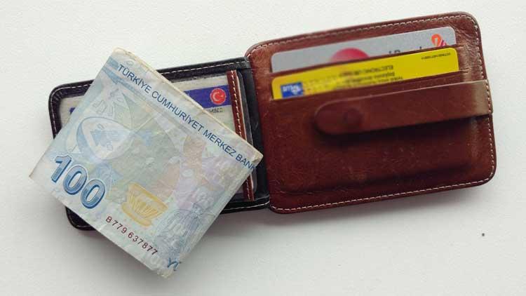 cüzdan kaybetmek